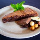 Brownie de 3 chocolates